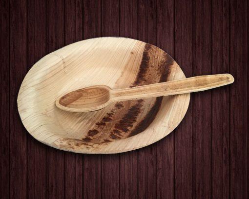 Palm leaf plates,Dessert Combo Pack