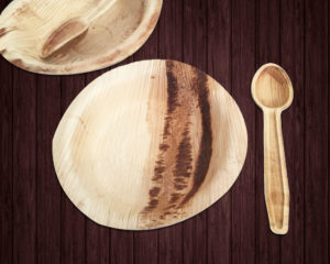 Dessert Combo Pack,Eco friendly tableware,Palm leaf plates