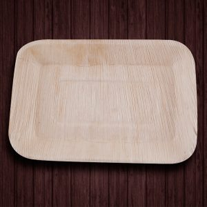Rectangle Ecoplates,Areca Leaf Plates ,Biodegradable party plate