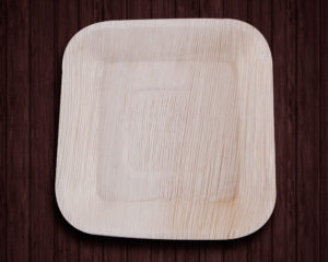 Areca Leaf Plates,Square Ecoplate ,Disposable areca leaf plates