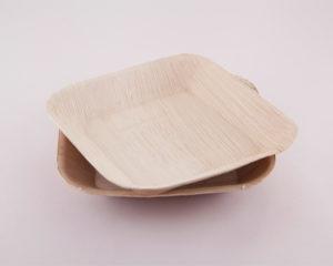 Square Ecoplates,Disposable palm plates