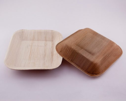 Square Ecoplates,Disposable palm plates,Eco friendly Plates